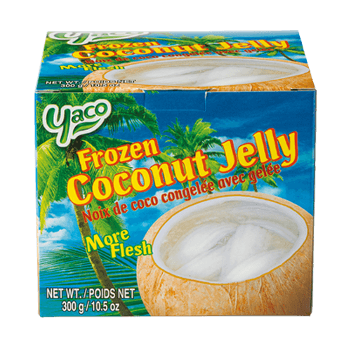 Frozen Coconut Jelly