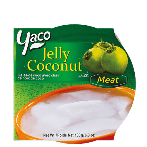 Frozen Coconut Jelly with Coconut Meat