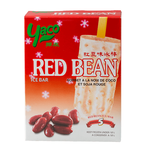 Frozen Red Bean Ice Bar