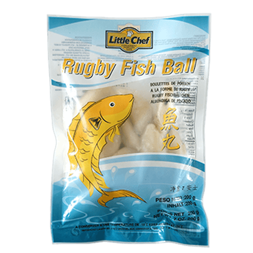 Frozen Rugby Fish Ball