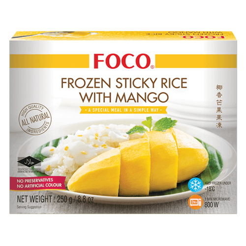 Frozen Stick Rice with Mango