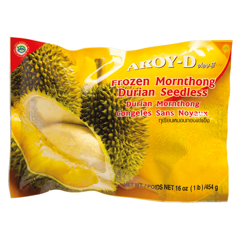 Frozen Monthong Durian Seedless in Vacuum